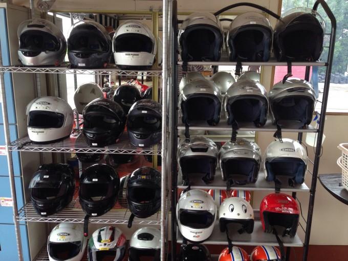アップルのヘルメット
