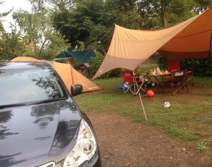 アメニティドーム+ヘキサタープ初めてのキャンプ