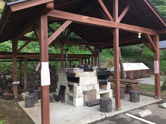 天守閣自然公園の石窯