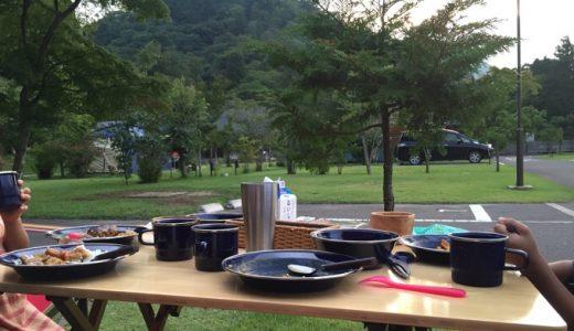 石窯と露天風呂のある超キレイなキャンプ場!天守閣自然公園@仙台