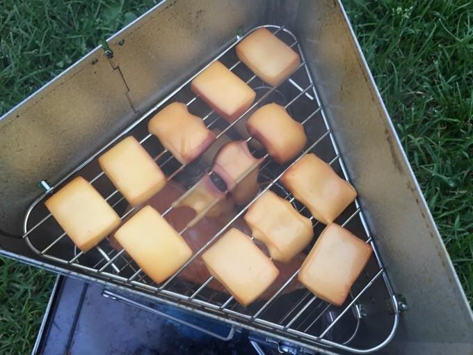 溶けてしまったチーズ