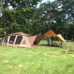 [夏旅2015]初めての超高規格キャンプ場!広さたっぷりの区画@苫小牧
