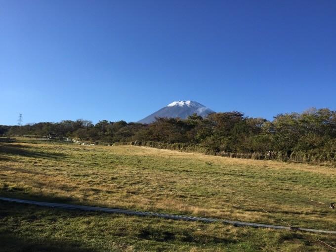 電源無Bから見る富士山