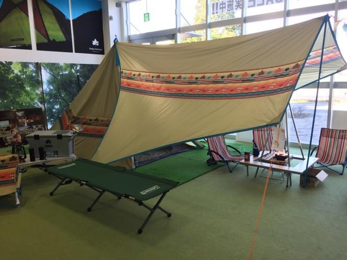 ロゴスのテントとタープ