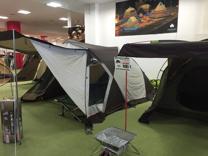 ウェザーマスターシリーズのドーム型テント