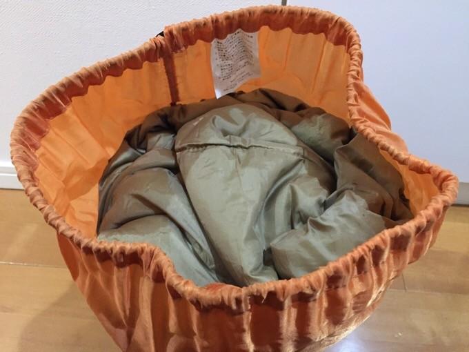 旧型キッズマミーの収納袋