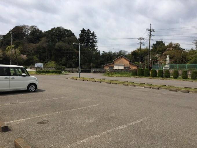 NSPの大駐車場