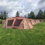 色々と経験不足を痛感した風雨ときどき暴風&豪雨な悪天候キャンプ!