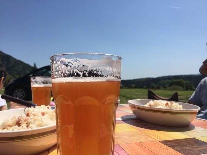 地ビールで乾杯!
