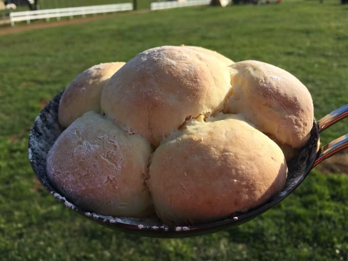 ちびパンでちぎりパン完成