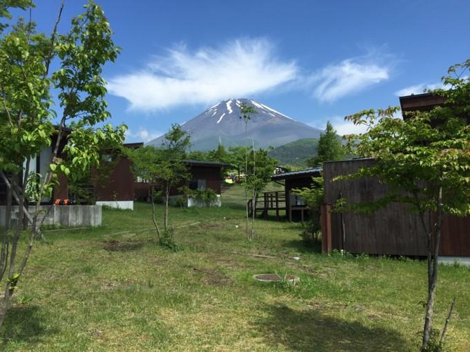 5月の富士山が美しい