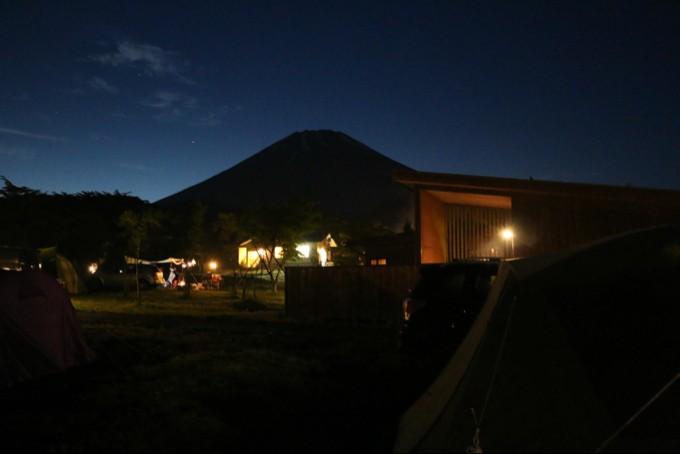 雲が晴れたらキレイな富士山