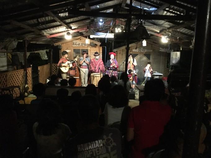 フルーツ村のコンサート