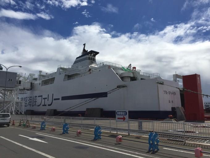 津軽海峡フェリーのブルーマーメイド