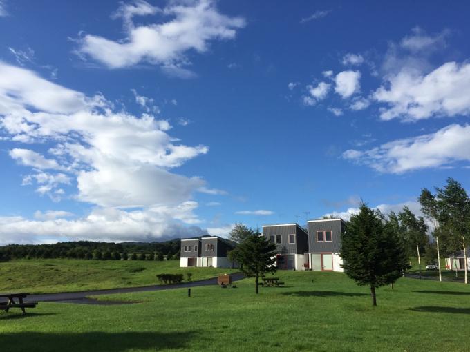 オートリゾート八雲のロッジ群