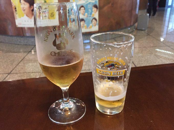 ビール工場見学のお楽しみ