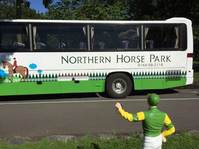 ノーザンホースパークのバス