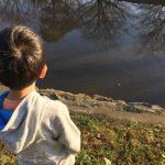 はじめての父子キャンプ!には程遠かった…激寒な河川敷で野宿体験