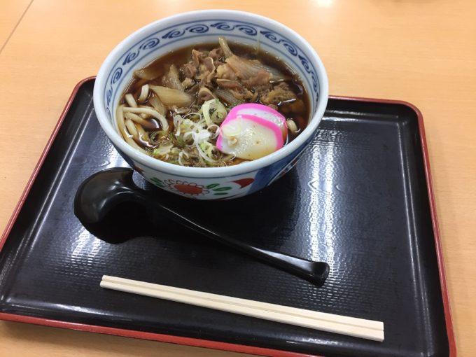 阿武隈高原SAで遅めの夕飯