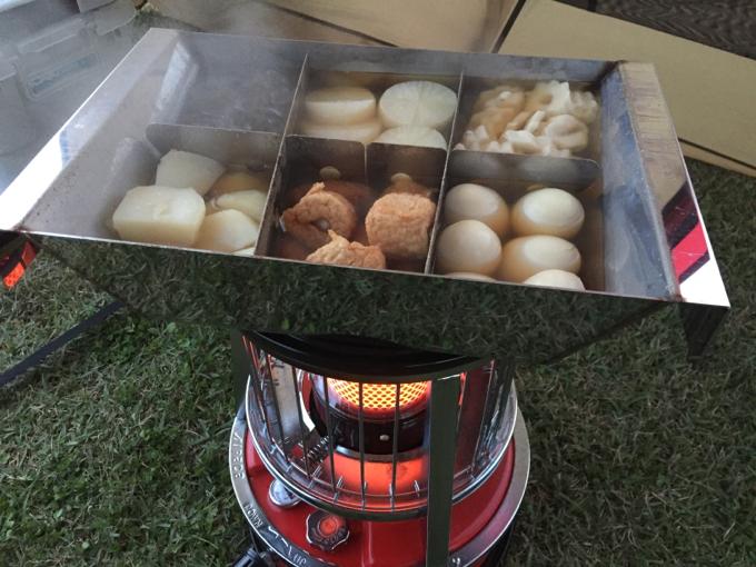 アルパカ+おでん鍋のコラボ