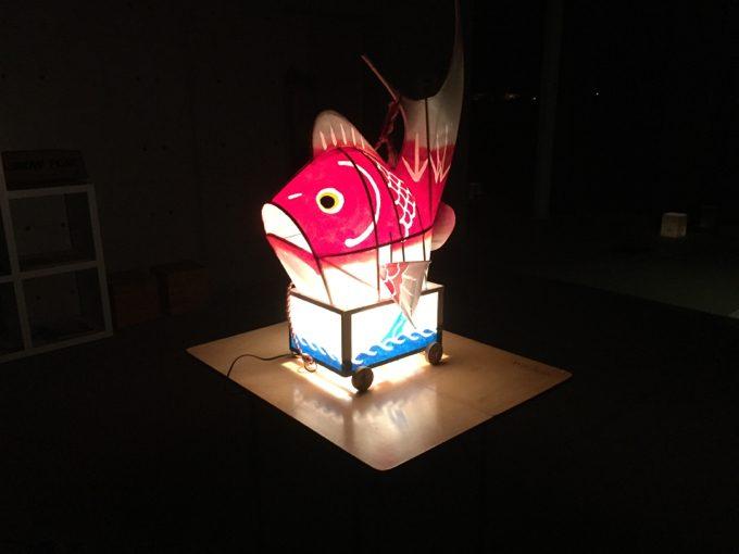 鯛車の展示@本社内