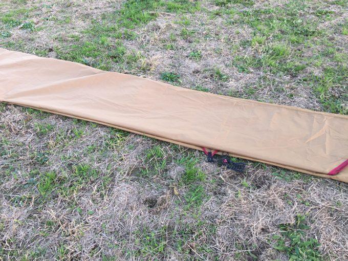 ヘキサタープのキレイな畳み方