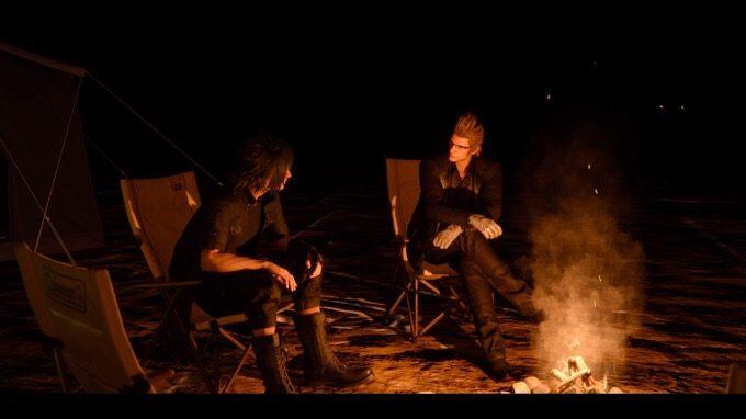 FINAL FANTASY XV Campfire