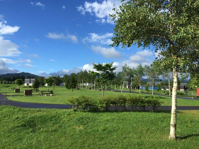 オートリゾート八雲の美しい場内の雰囲気