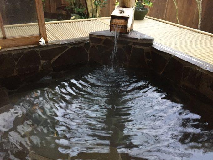 有野実苑の家族風呂(和)