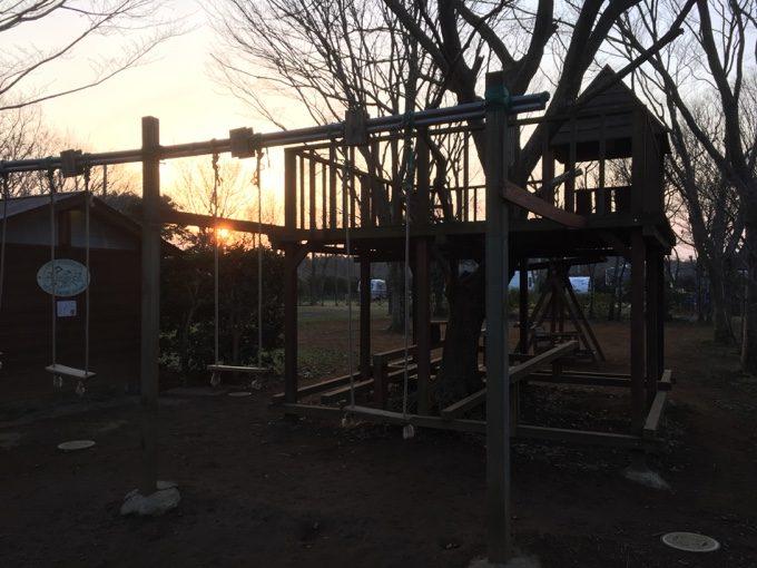 有野実苑オートキャンプ場の快適な朝