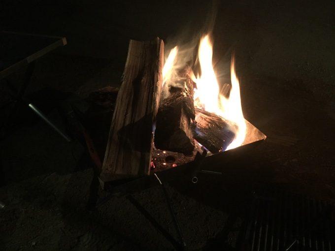 スウィートグラスで焚き火三昧
