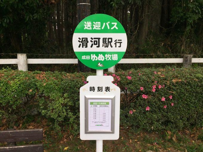 成田ゆめ牧場は送迎バスもある観光牧場