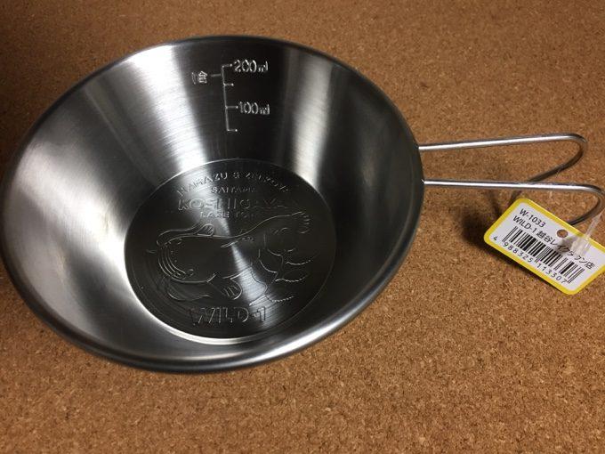WILD-1越谷レイクタウン店オリジナルのシェラカップ