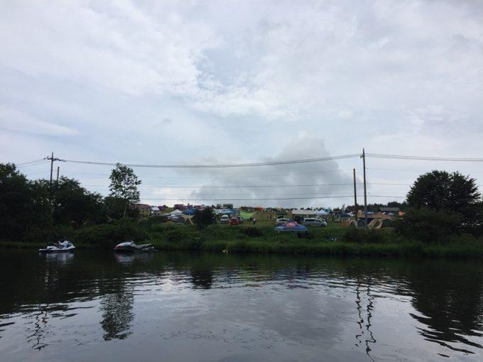 バラギ湖から見るカンパーニャ嬬恋