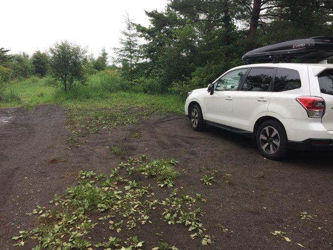 カンパーニャ嬬恋での雨キャンプ撤収完了