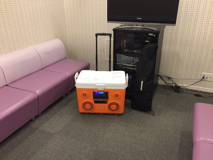 KOOLMAXを防音壁のある部屋で検証