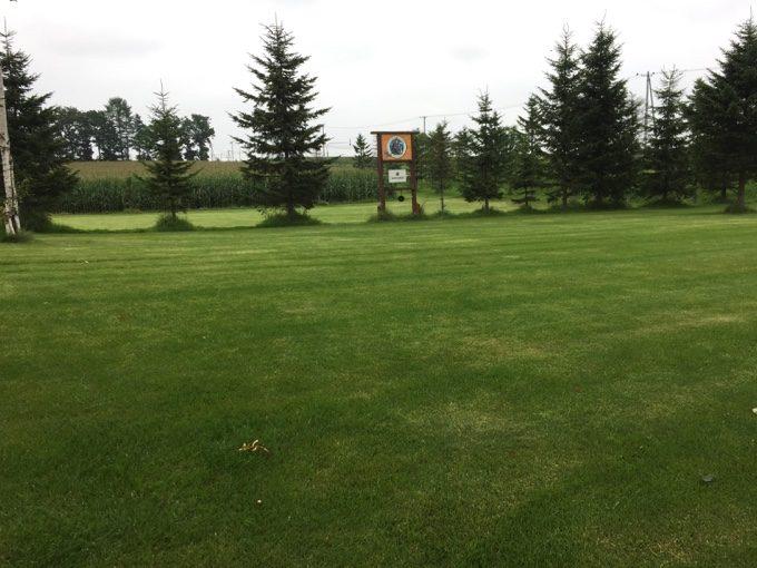 カントリーファーマーズ藤田牧場の美しい芝生