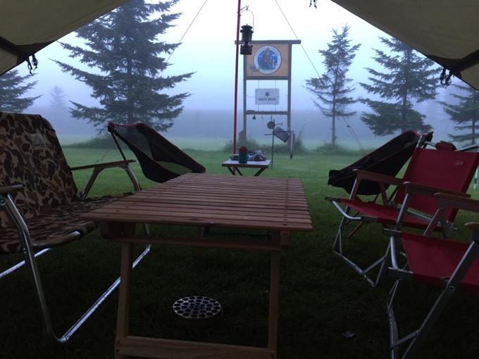 スローキャンプフィールド「カントリーファーマーズ藤田牧場」で迎える朝