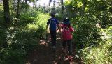 子供達と六花の森を冒険中