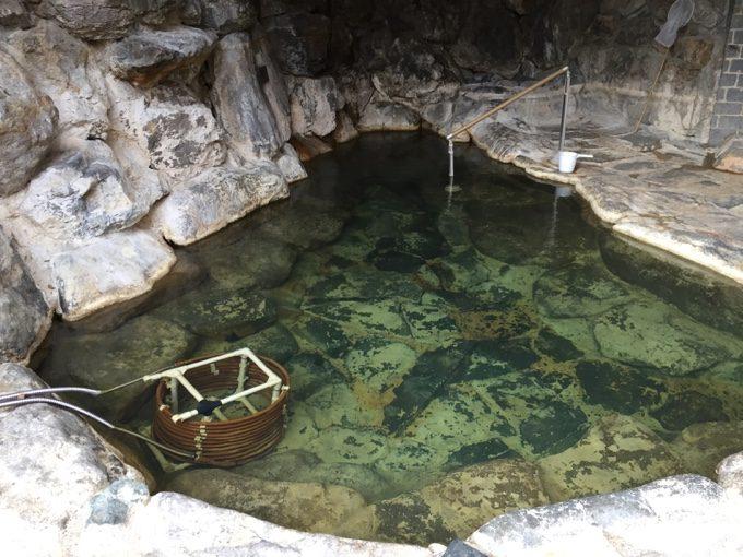 かんの温泉にあるイコロ・ボッカの湯