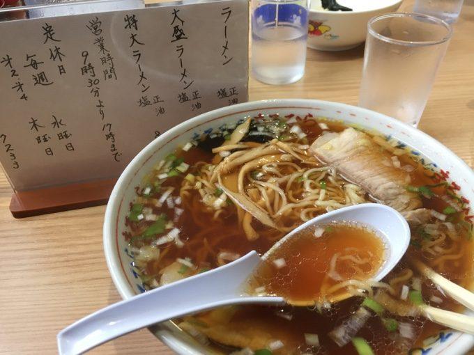北海道4大ラーメンの1つ、釧路ラーメン