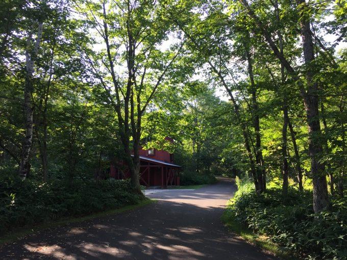 虹別オートキャンプ場の個別サイト