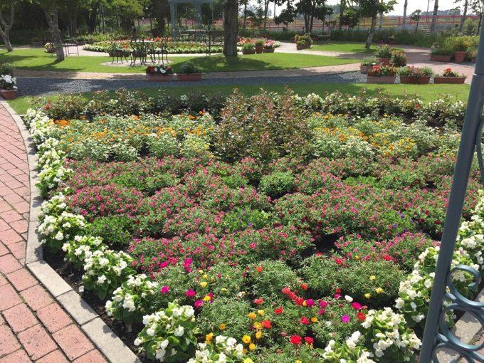 柳月スイートピアガーデンの庭園