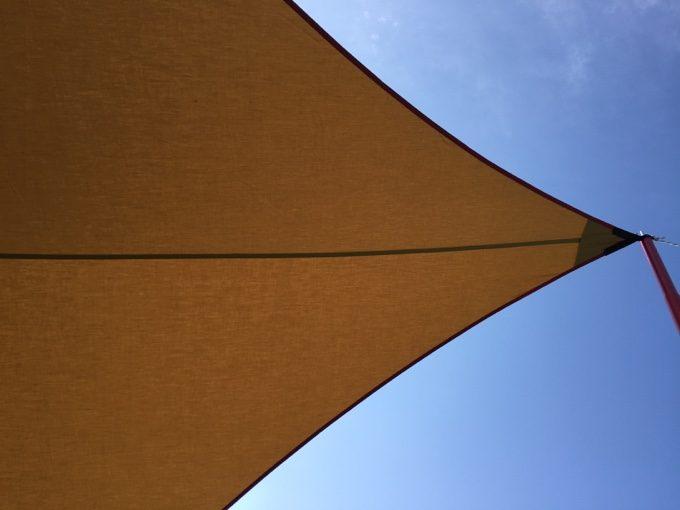 ムササビウイングのフロント側から見える空