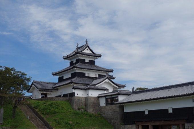 白河小峰城の三重櫓