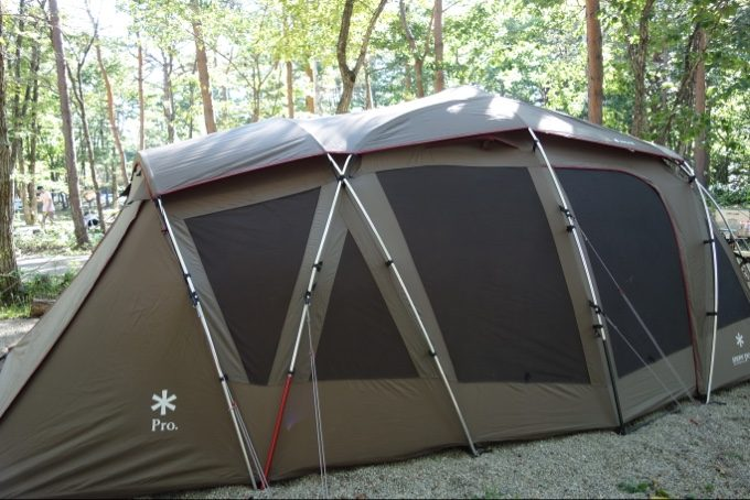 羽鳥湖高原レジーナの森のテントサイト