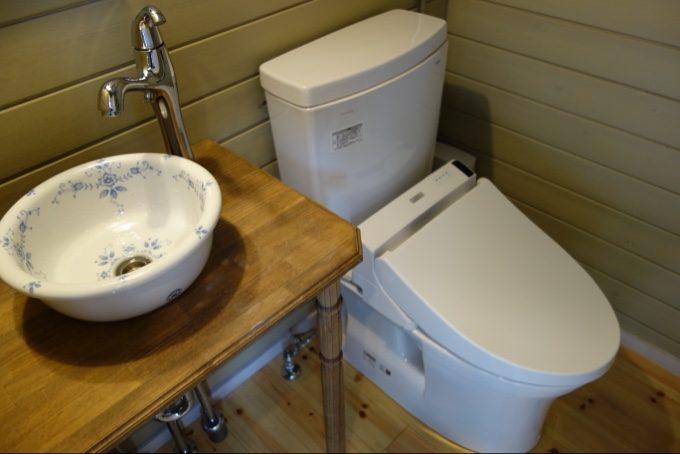 ツインキャビン語らいのトイレ