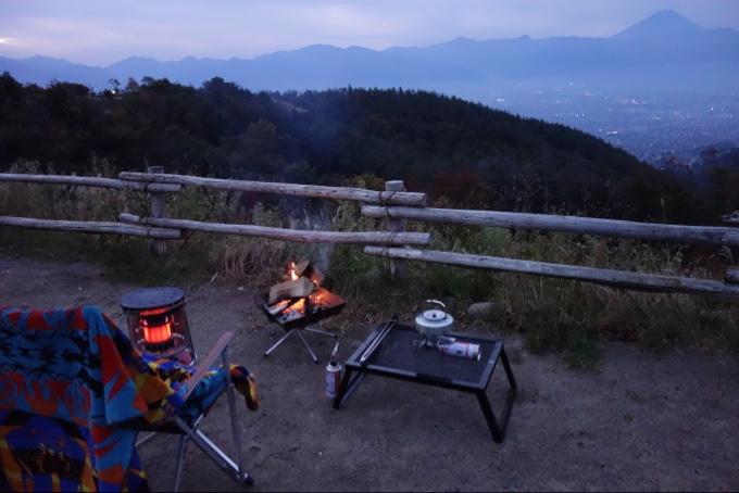 夜景ドーン富士山バーンなキャンプ