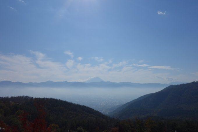 ほったらかしキャンプ場から見る雲海もどき