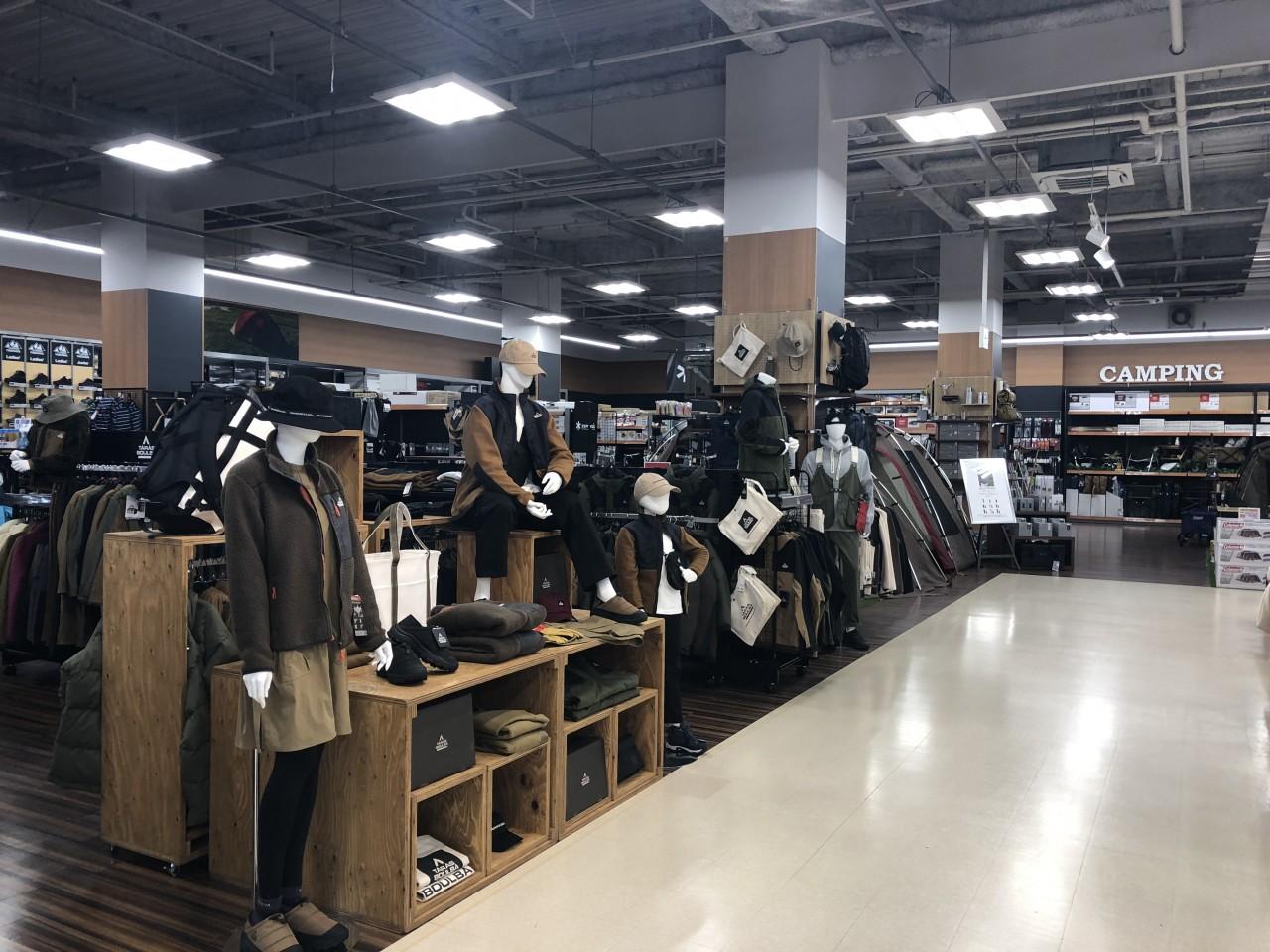 リニューアルオープン後のスポーツオーソリティ松戸店